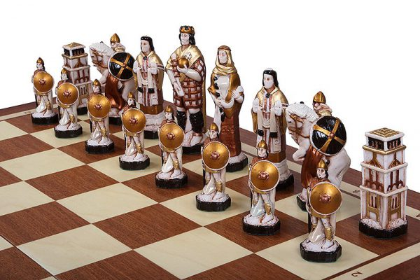 23 inch england chess set