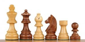 german knight chessmen