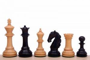 columbian chessmen ebonised
