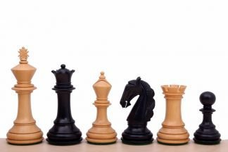 columbian chessmen ebonised