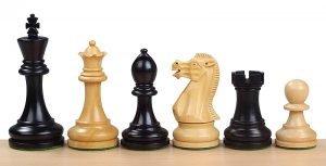 executive chessmen ebonised