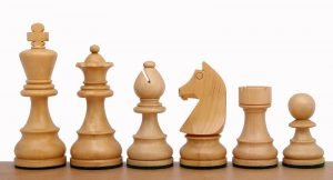 chessmen ebonised german