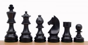 chessmen ebonised