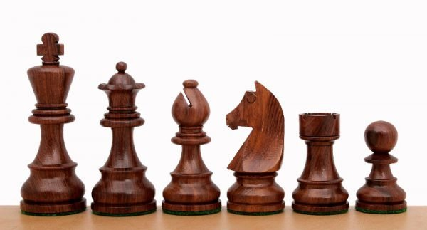 chessmen shisham german