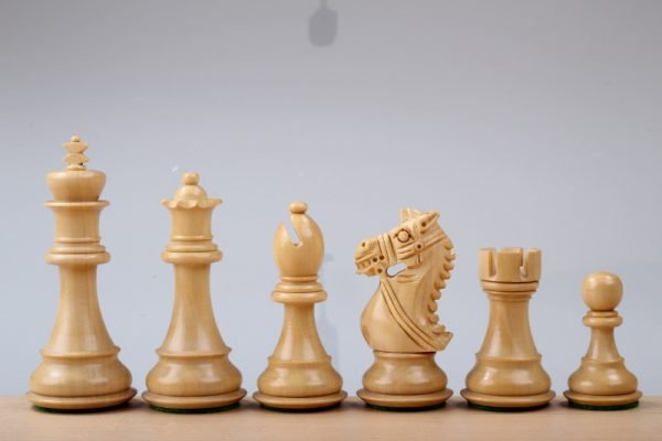 ebony kings chessmen