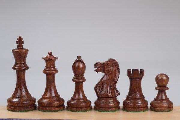 sheesham chess pieces