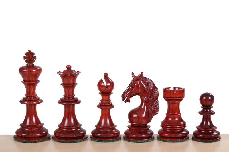 Schachfiguren Einhorn Padouk 11.4 cm
