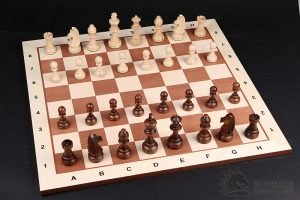 mahogany chess board