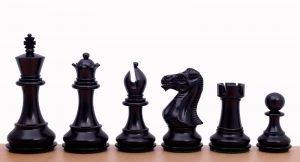 stallion ebonised chessmen