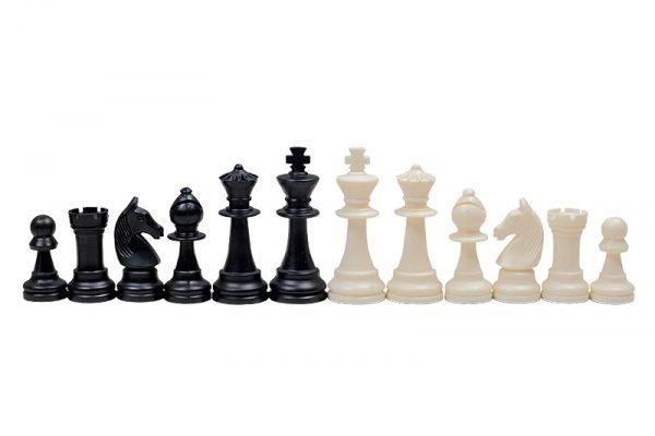 staunton chess pieces plastic