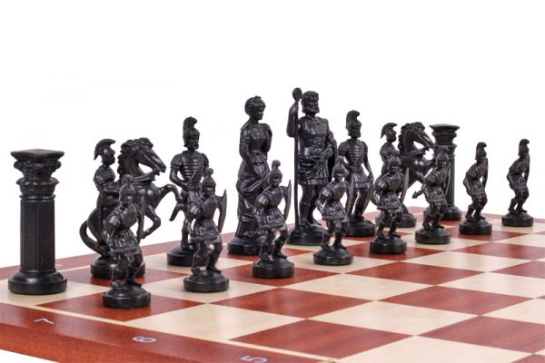 chess pieces roman