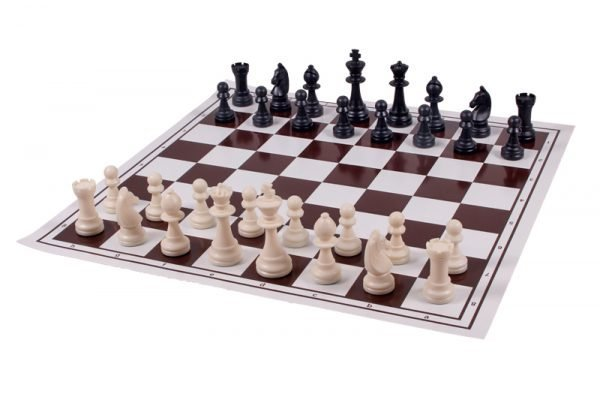 vinyl roll up chessboard