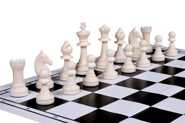 chess set with board plastic