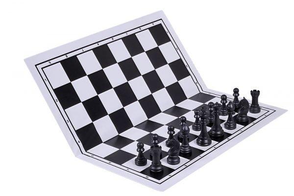chessboard plastic black