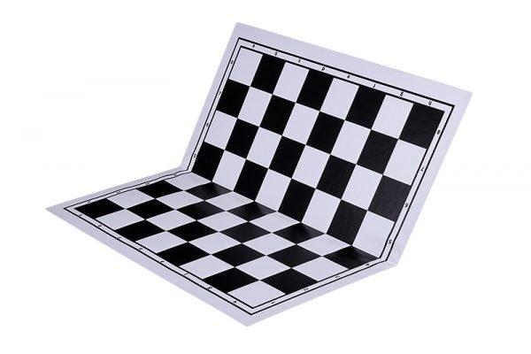 black chessboard