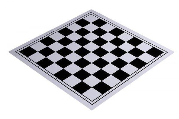 black chessboard plastic