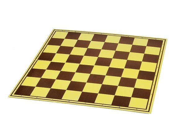 cardboard chess board