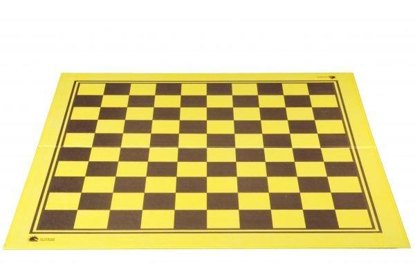 vinyl cardboard chessboard