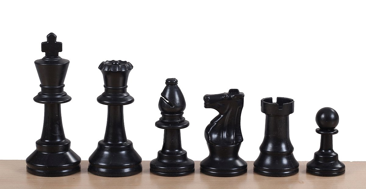 analysis chess pieces plastic
