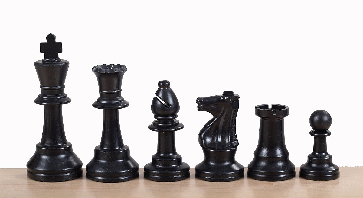 french chess pieces plastic
