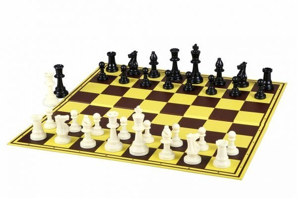 vinyl cardboard chess board