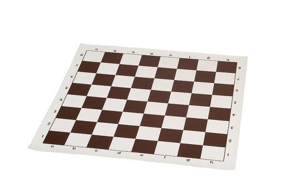 vinyl chessboard brown