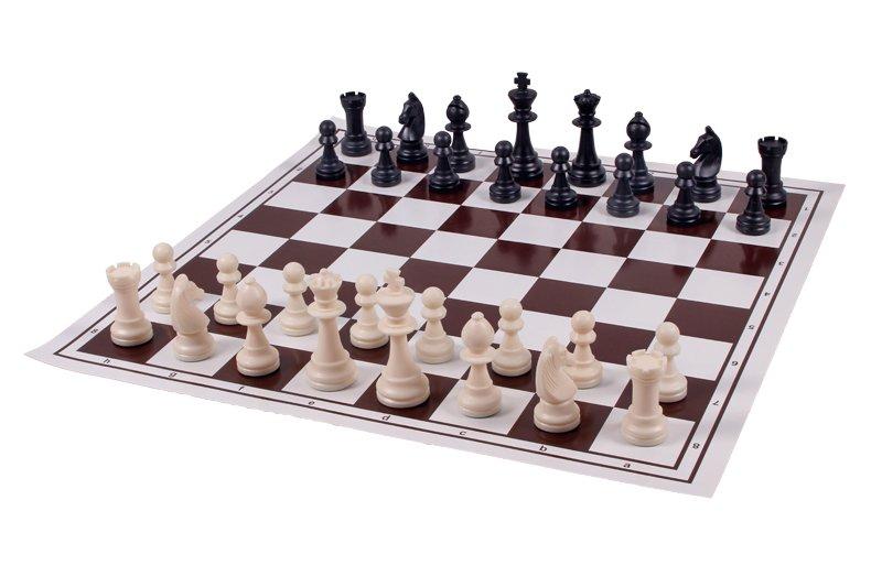 Schachspiel Vinyl 50 cm