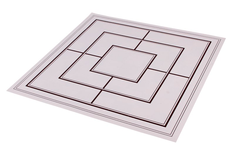 double side chessboard brown
