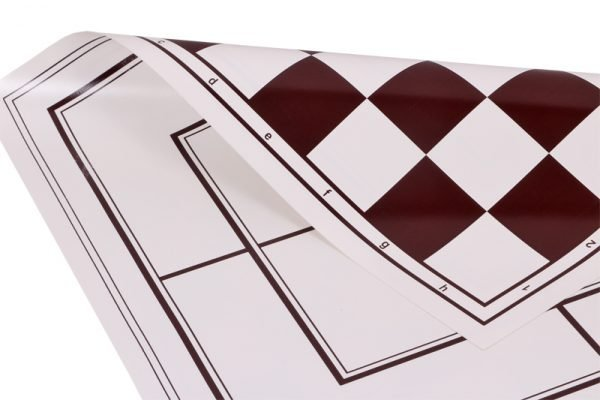 vinyl double side chessboard