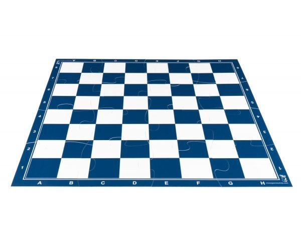 blue chess board
