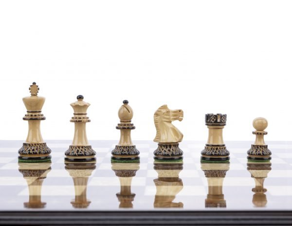 burnt chess pieces