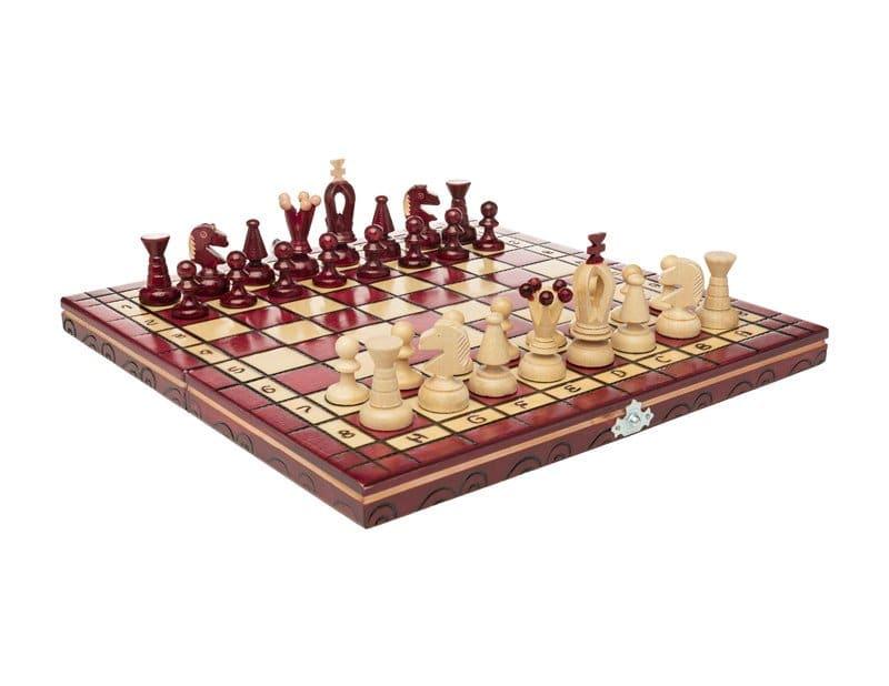 cherry chess set