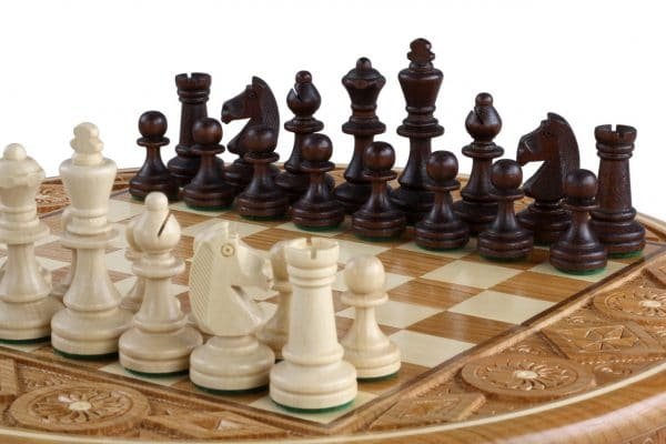 folding rubin chess set