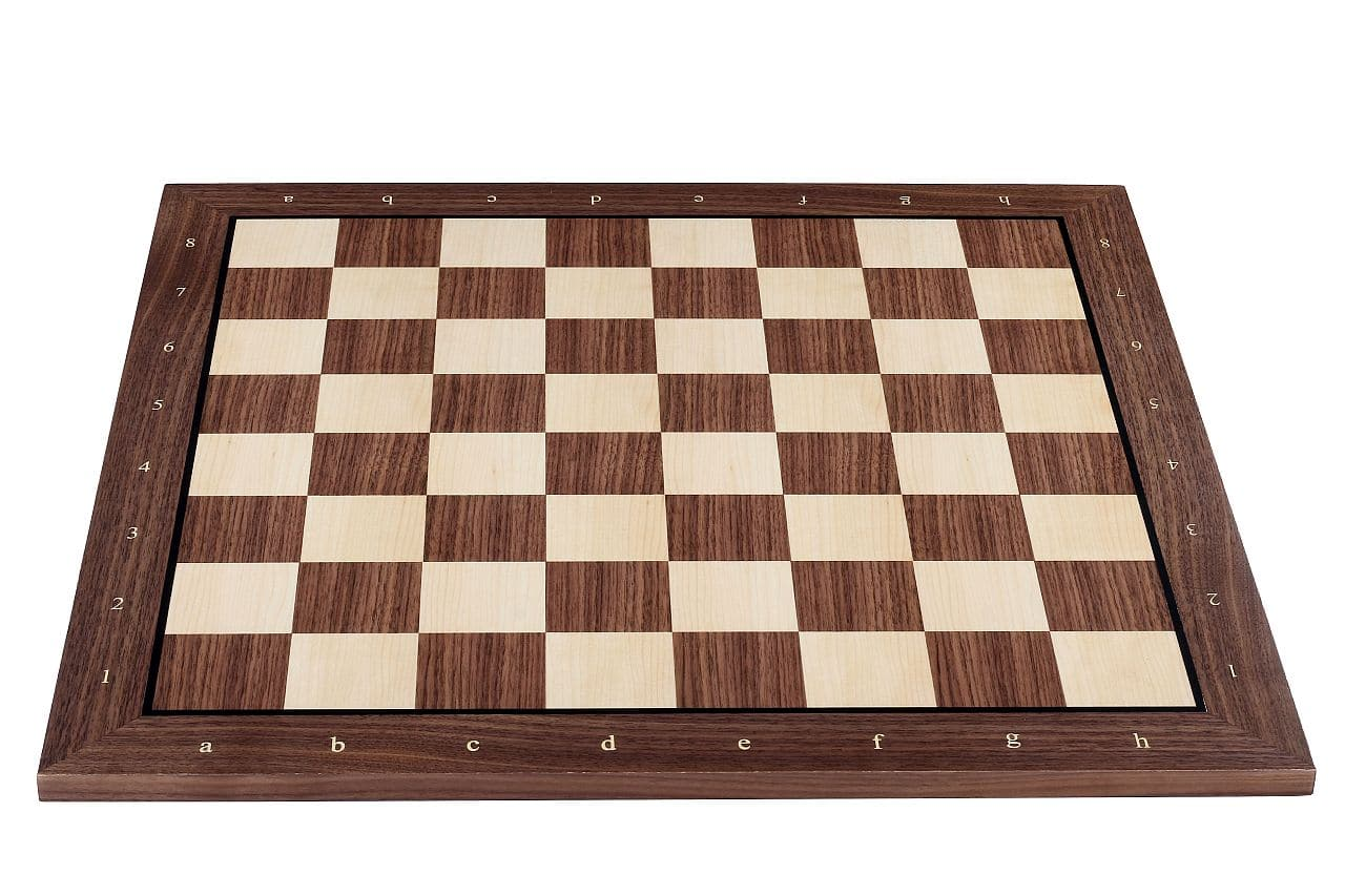 walnut chess board