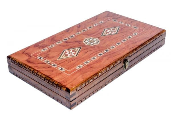 backgammon rose wood