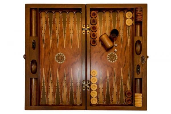 backgammon rosewood