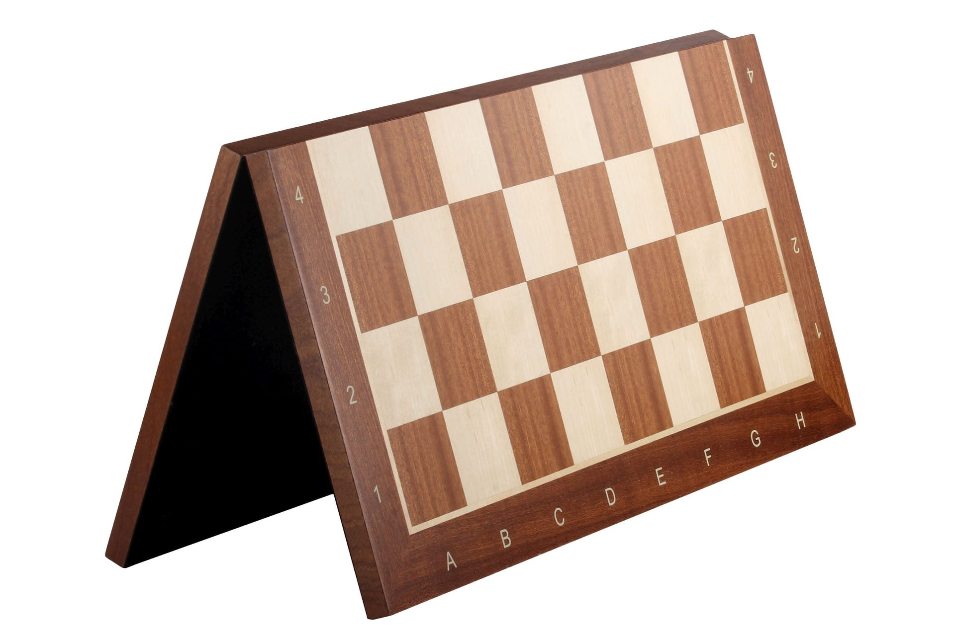 folding chess board sapele