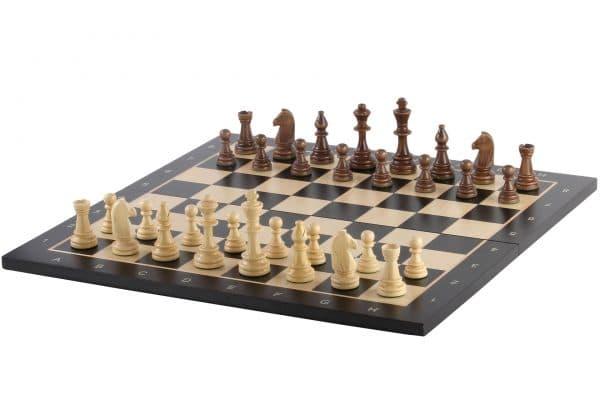 folding black chess board sapele