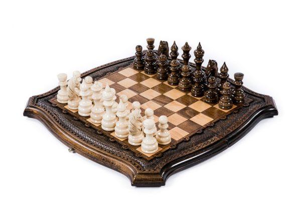 Backgammon and Chess Set