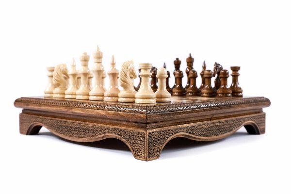 Style Wood Chess Set