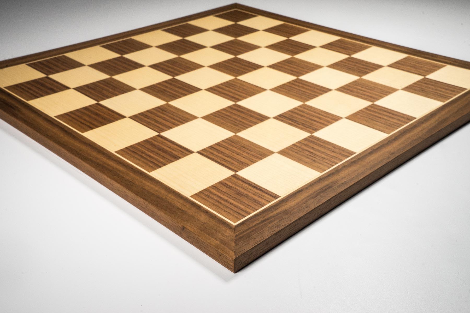 Walnut Chess Board
