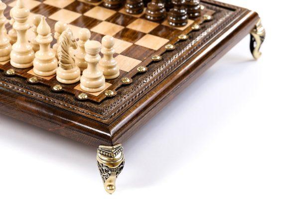 Chess Set Bronze