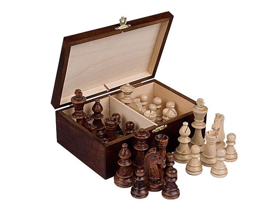 Wooden Chessmen Case