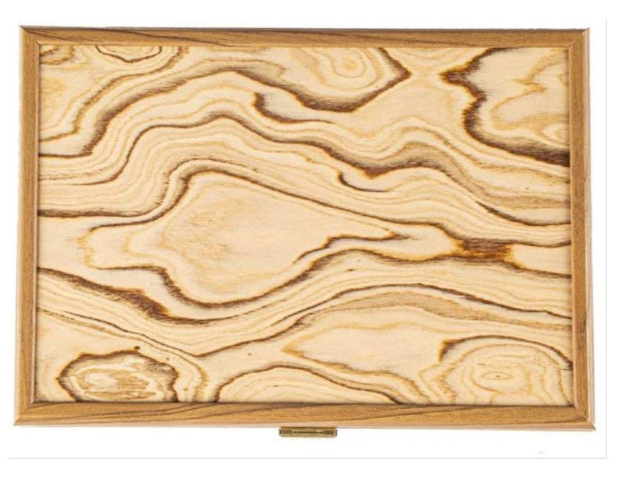Wooden Chessmen Case OLIVE