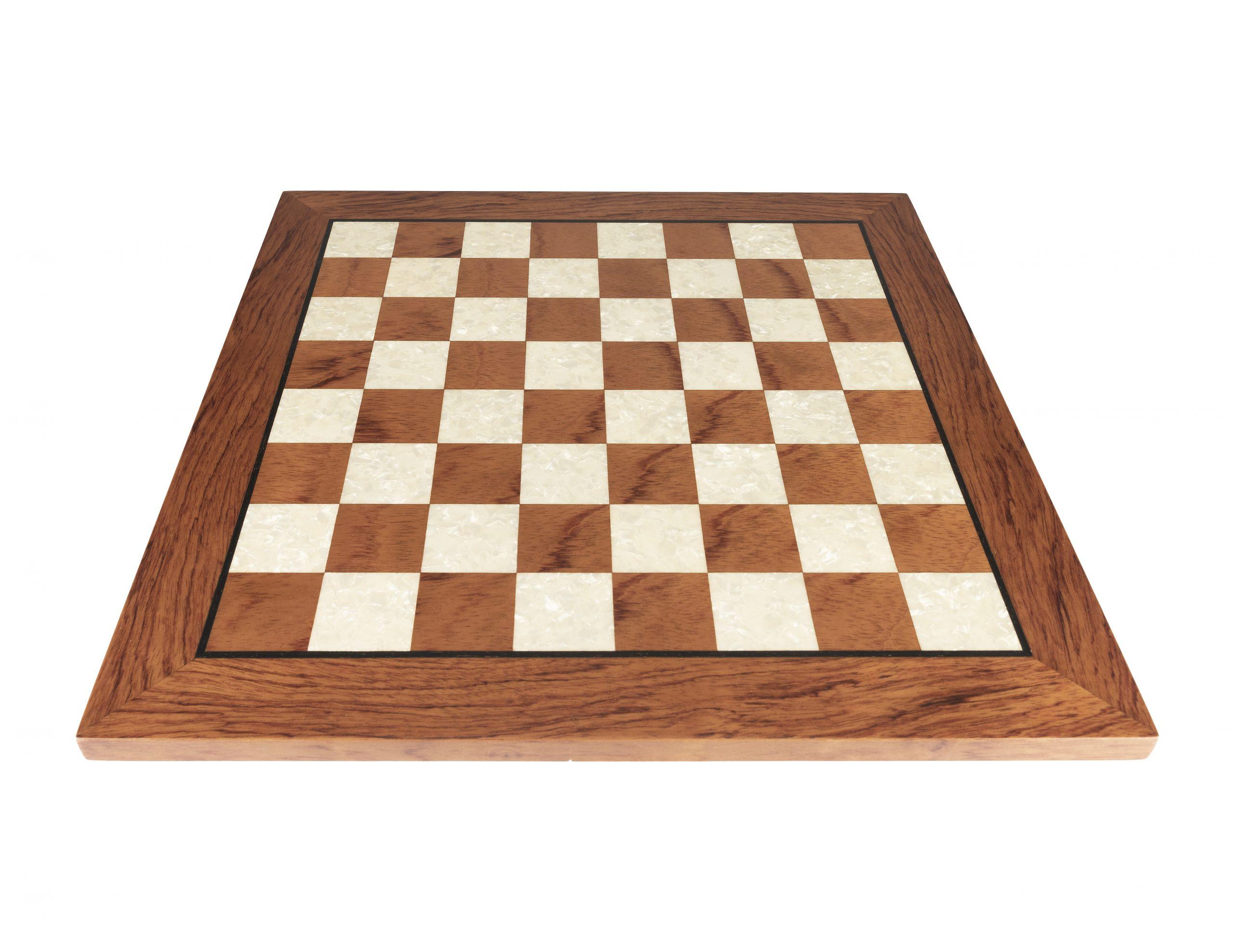 Oak Chess Board