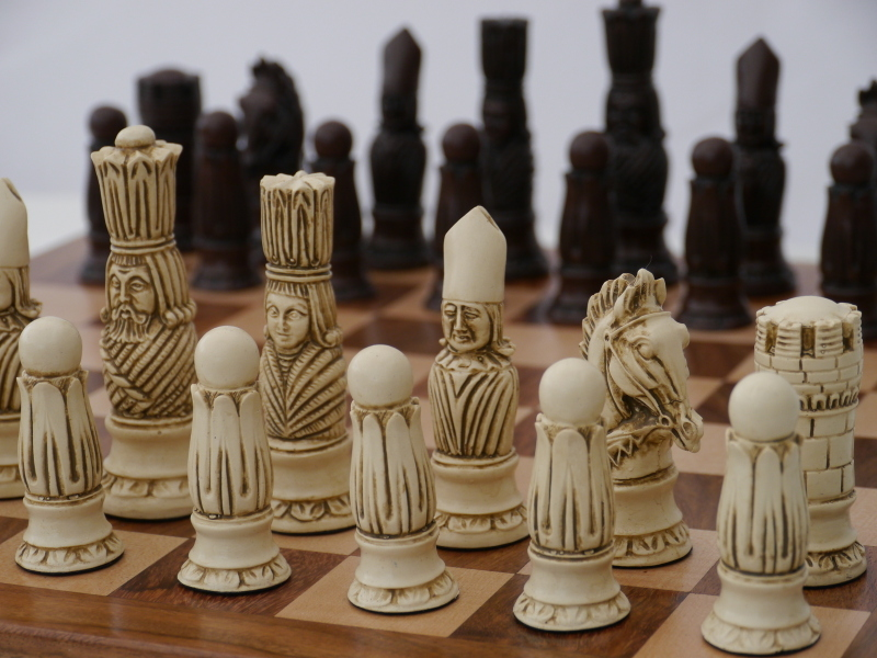 Victorian Chess Pieces