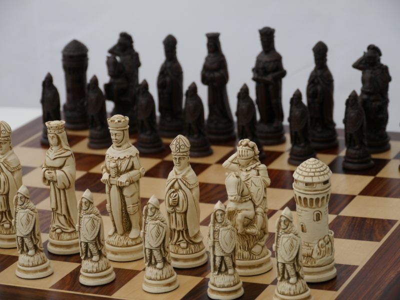 Camelot Chess Pieces