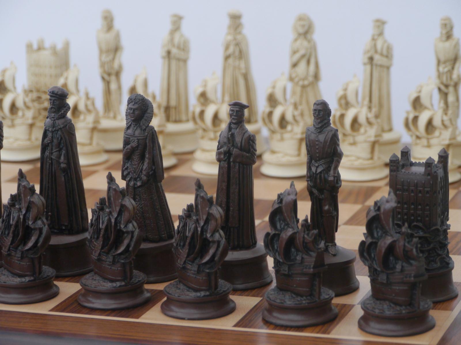 Elizabethan Chess Pieces